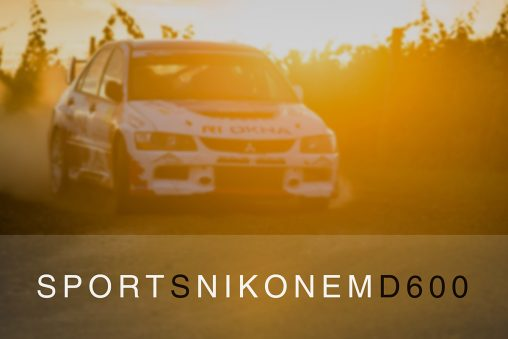 Sport s Nikonem D600