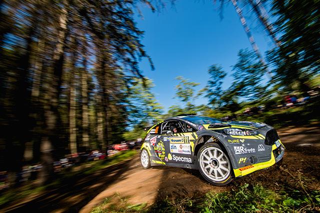 Barum Czech rally Zlín 2019