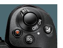Nikon Z6 - konfigurace horních tlačítek