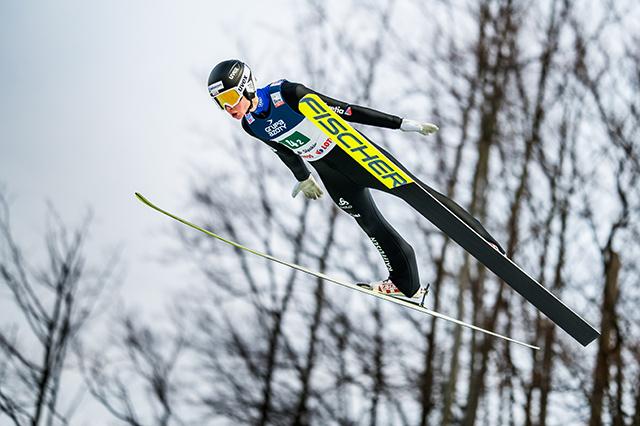 S Nikonem Z6 na skocích na lyžích