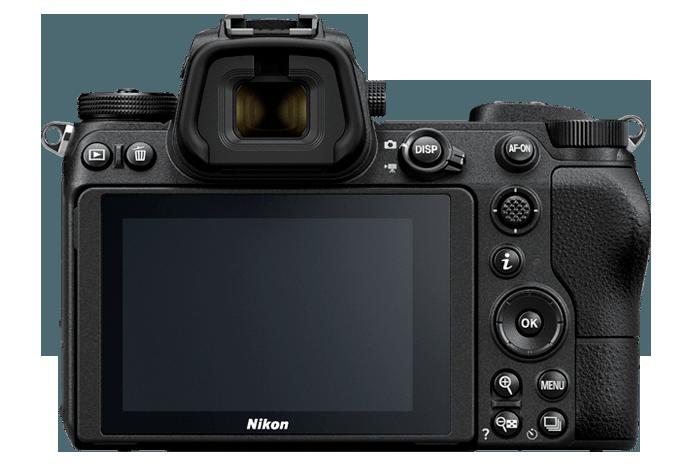 Zadní strana Nikonu Z6