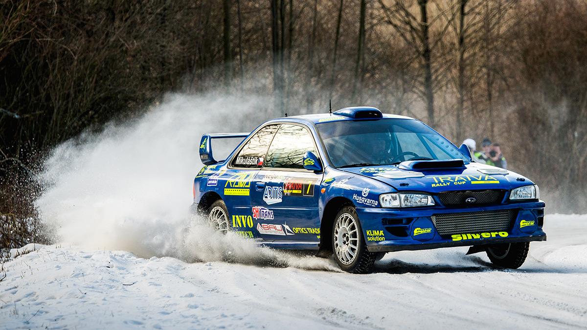 TRAIVA rally cup Kopřivnice I. 2020