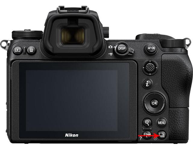 Sekvenční snímání - nastavení bezzrcadlovky Nikon
