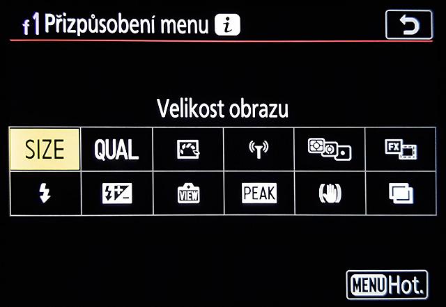 Tlačítko i na bezzrcadlovce Nikon