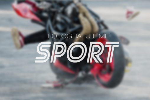 Fotografujeme sport - nepředvídatelné momenty a akce