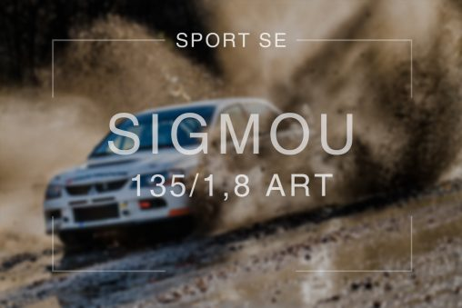 Sport se Sigmou 135mm ART